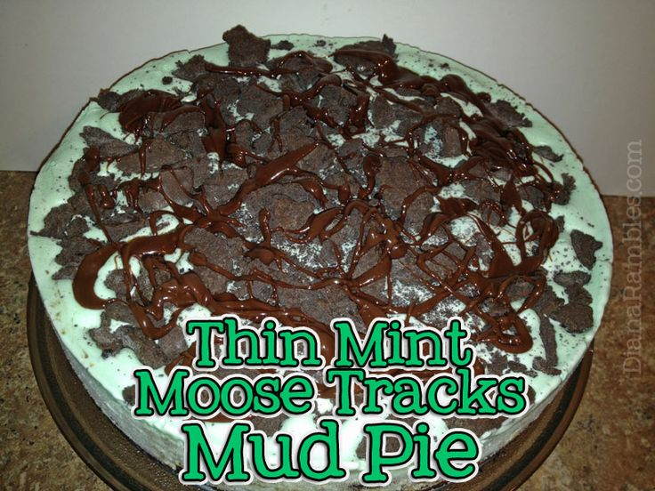 Thin Mint Moose Tracks Mud Pie | Holidays - St. Patrick's Day | Pinte ...