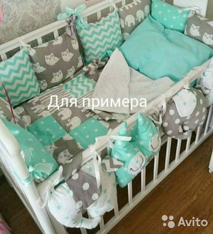 Шьем комплекты на детскую кроватку своими руками