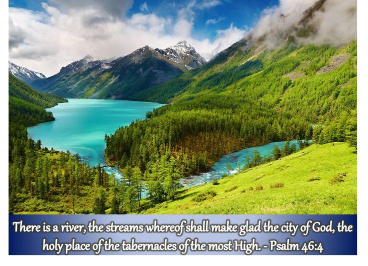 Psalm 46:4 KJB