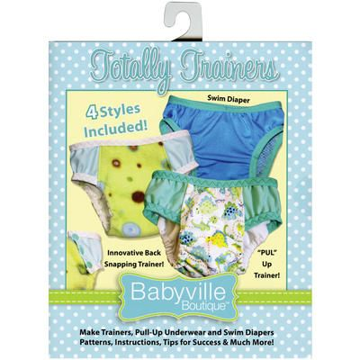 Babyville Cloth Diapers Made Easy Pattern & Instruction