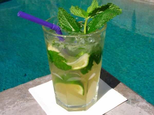 Mexican Mojito - On The Border version from Top Secret Recipes.