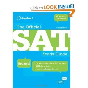 #7: The Official SAT Study Guide, 2nd edition