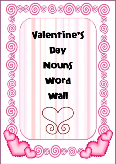 valentine's day word search second grade