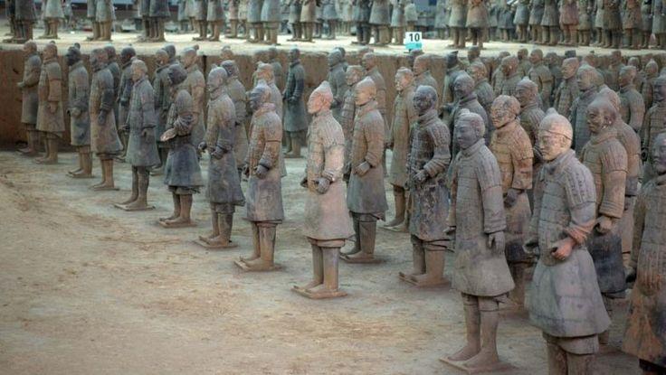 秦始皇帝陵及び兵馬俑坑の画像 p1_12
