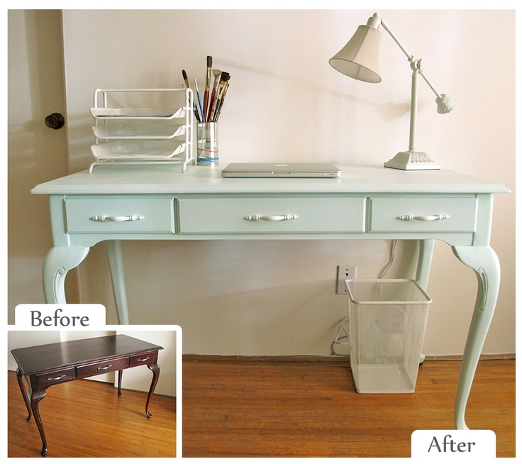 Julia Dilworth #VHDS12 Upcycle Challenge Refinished Desk
