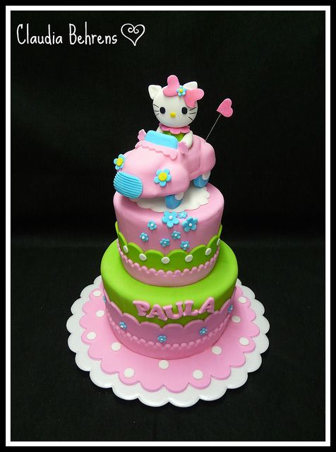 hello kitty cake - claudaia behrens