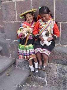 Quechua Peru children.