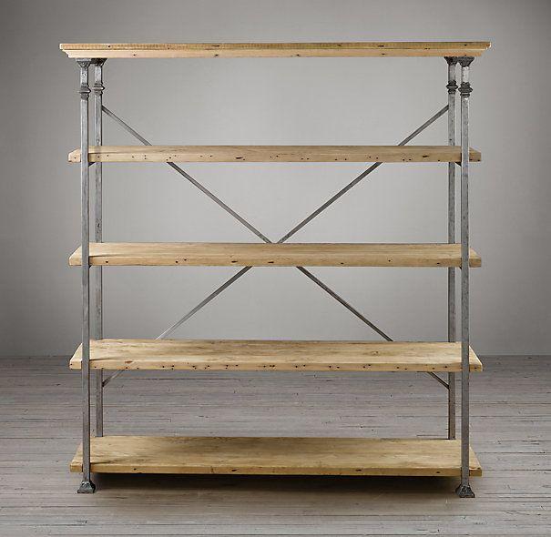 Bakers Rack Restoration Hardware Shelving Ideas Pinterest