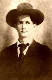 """Robert """"Bob"""" Dalton 1868-1892  Killed during an attempted double bank robbery in Coffeyville, Kansas along with brother, Gratten and Dick Broadwell and Bill Power. 1892"""