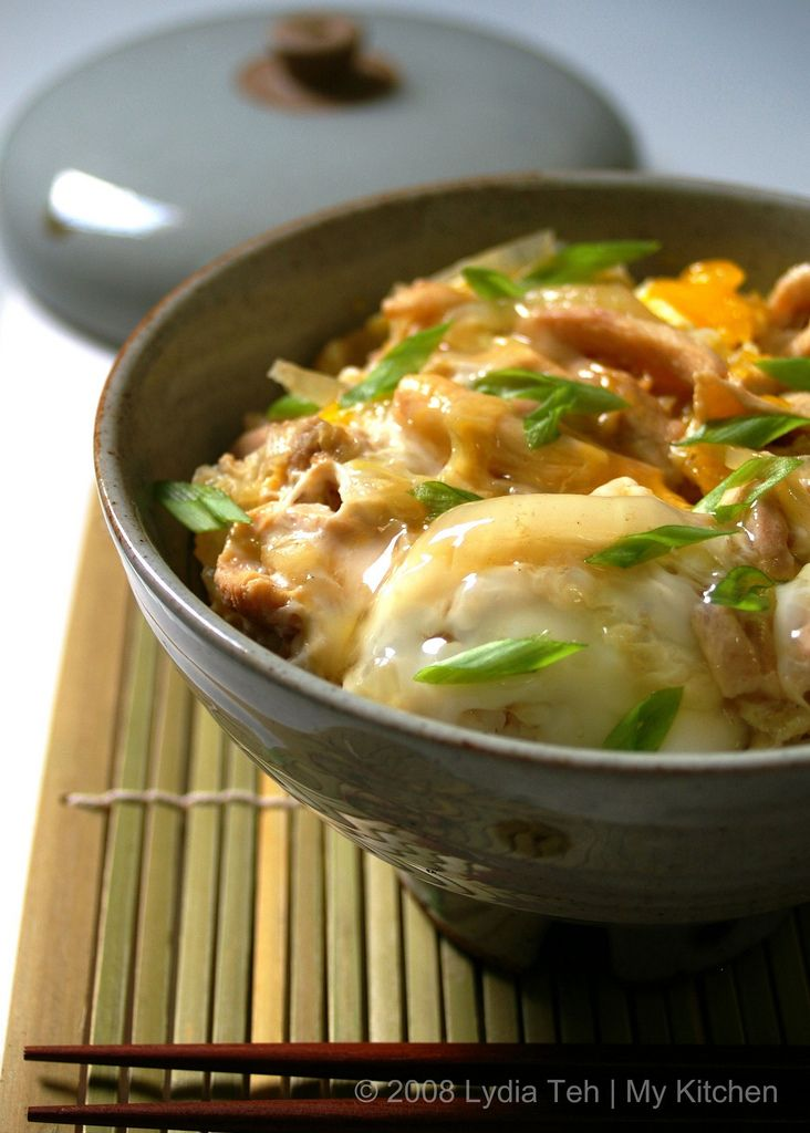 oyakodon - chicken and egg over rice