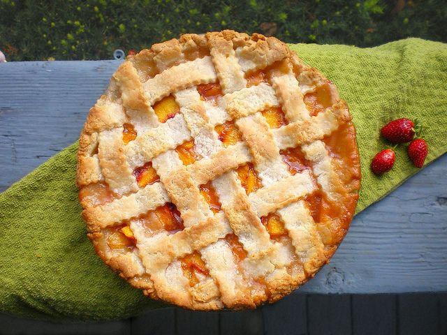 Peach Pie | Home Sweet & Savory Home | Pinterest
