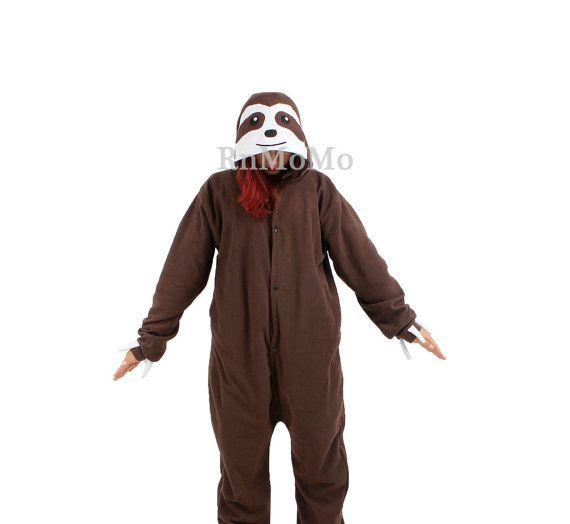 adult sloth pajamas