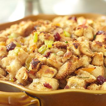 Cranberry Stuffing with Dried Fruit | Thank you Lord! (Thanksgiving ...