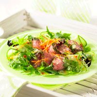 Asian Grilled Beef Steak Salad | Our Recipe of the Week | Pinterest