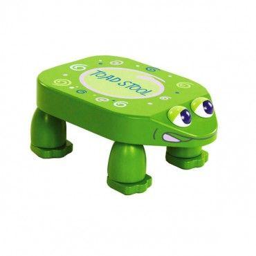 Frog step stool for kids kids bathrooms pinterest Bathroom step stool for kids