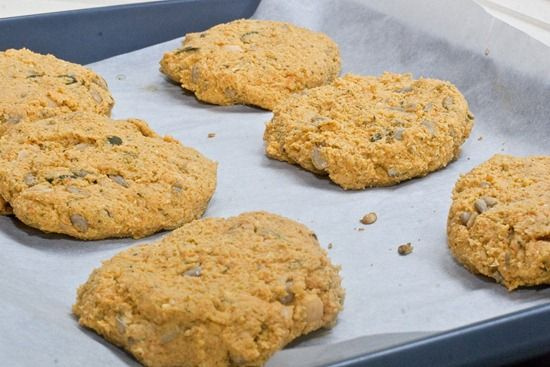 Curry Chickpea Burgers | Burgers | Pinterest