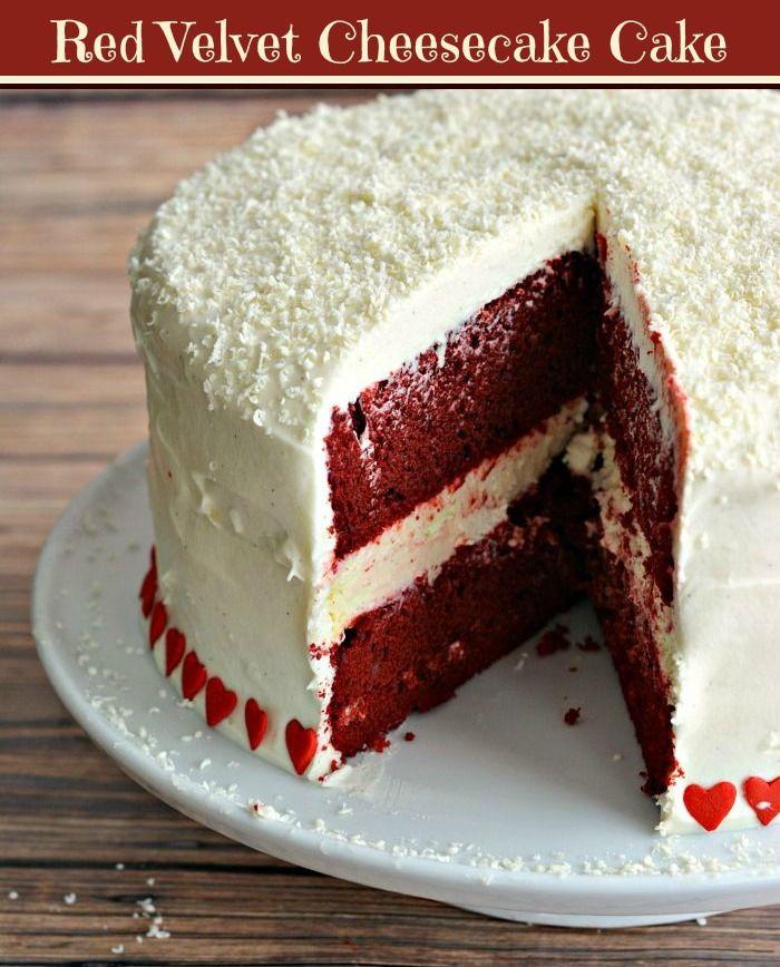 Red Velvet Cheesecake Cake | > Everything Cake!