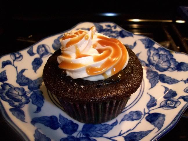 Chocolate Caramel Filled Cupcakes | Cuckoo for Cocoa | Pinterest