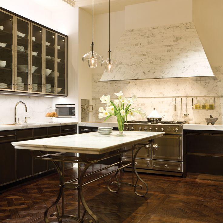 mick de giulio 39 s marble tile clad hood home kitchen