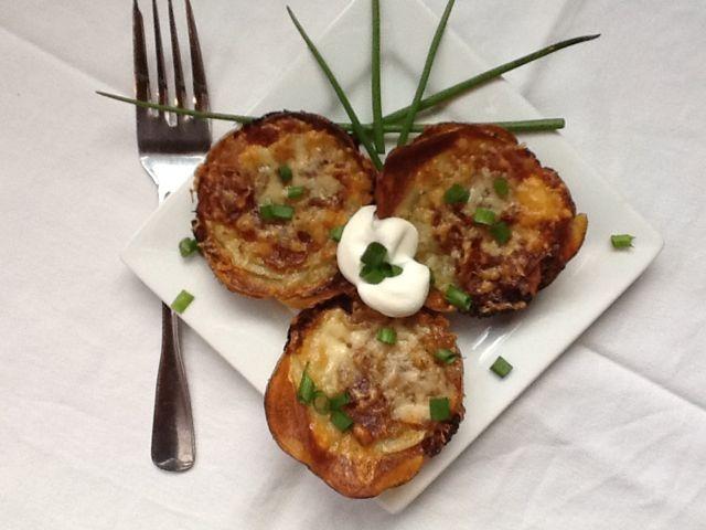 Muffin-Pan Potato Gratins Recipe — Dishmaps