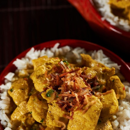 Coconut-Curry Chicken Stew | This looks yummy... | Pinterest