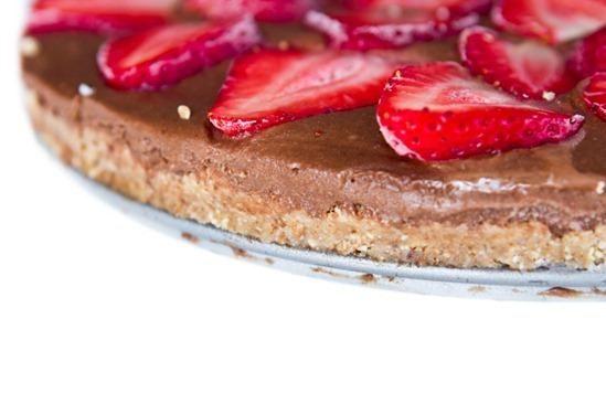 No Bake Chocolate Coconut Ice Cream Torte #vegan #vaneltinesday