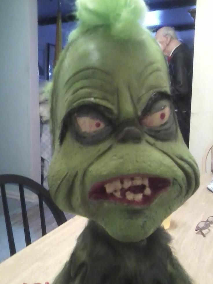 Grinch Latex Foam Filled Prop | Halloween Props | Pinterest