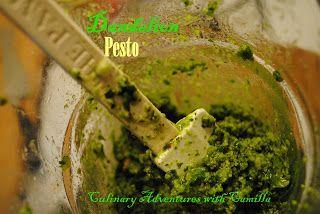 Culinary Adventures with Camilla: Dandelion Pesto