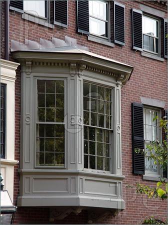 More Bay Window Trim Home Design Front Doors Exterior
