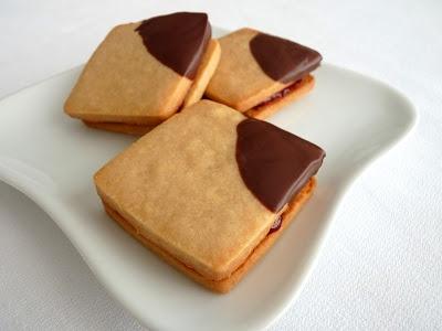 peanut butter and jam cookies | Desserts | Pinterest