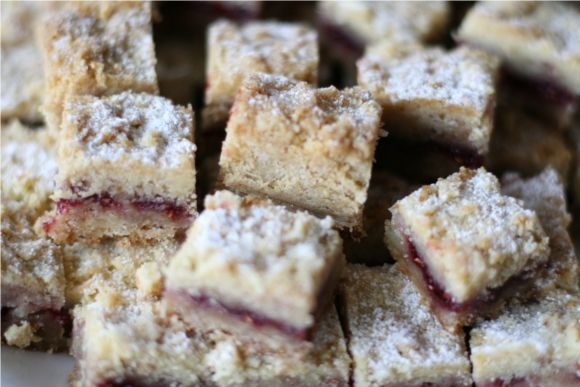 Austrian Raspberry Shortbread | SWEET TREATS | Pinterest