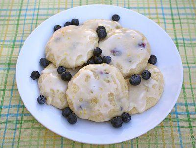 Lemon Blueberry Buttermilk Cookies