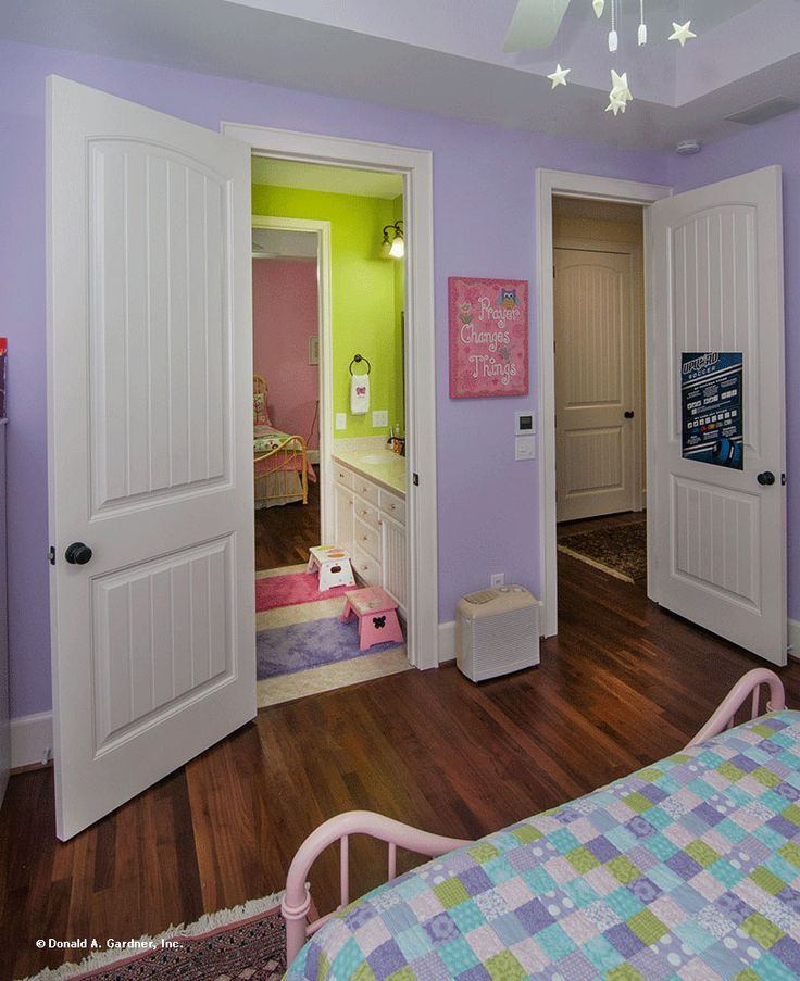 Children's Bedroom, the Birchwood Plan #1239