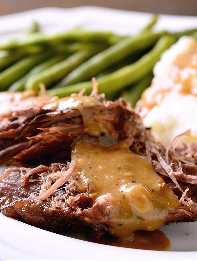 Rosemary Garlic Pot Roast | Recipe