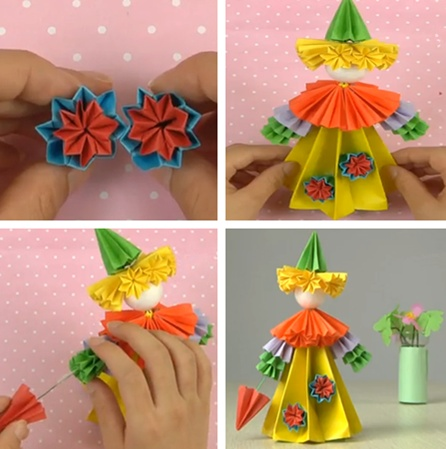 Pin by mihaela s on origami pinterest for Homemade arts and crafts