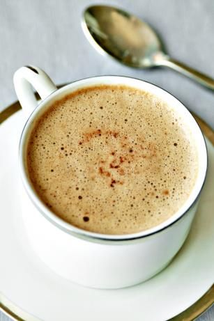Hot Cocoa Mocha--Cocoa, sugar, whipping cream, hot coffee