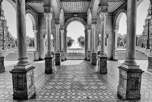 Plaza de España - Parque Maria Luisa - Sevilla