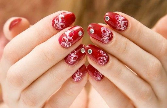 2013 New Years Nails Nail polish designs Latest Cute Nail Art Ideas
