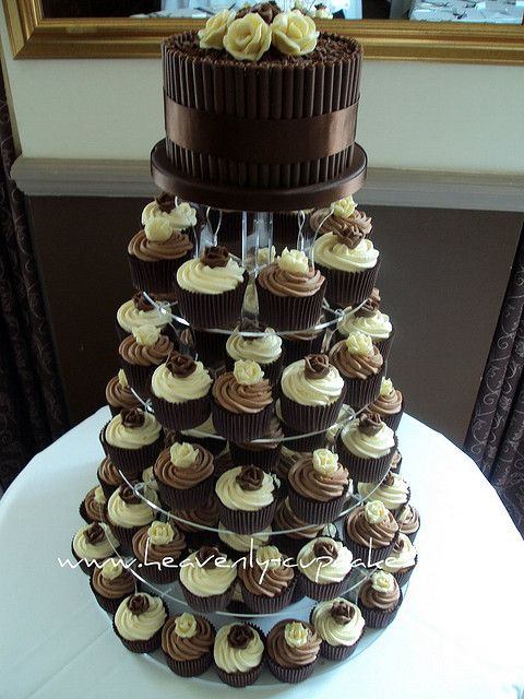 Chocolate Roses Wedding Cupcakes | Zeus | Pinterest