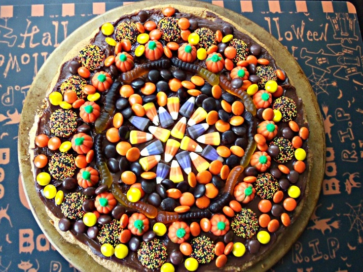 Chocolate Peanut Butter Cookie Pizza | Food and recipes | Pinterest