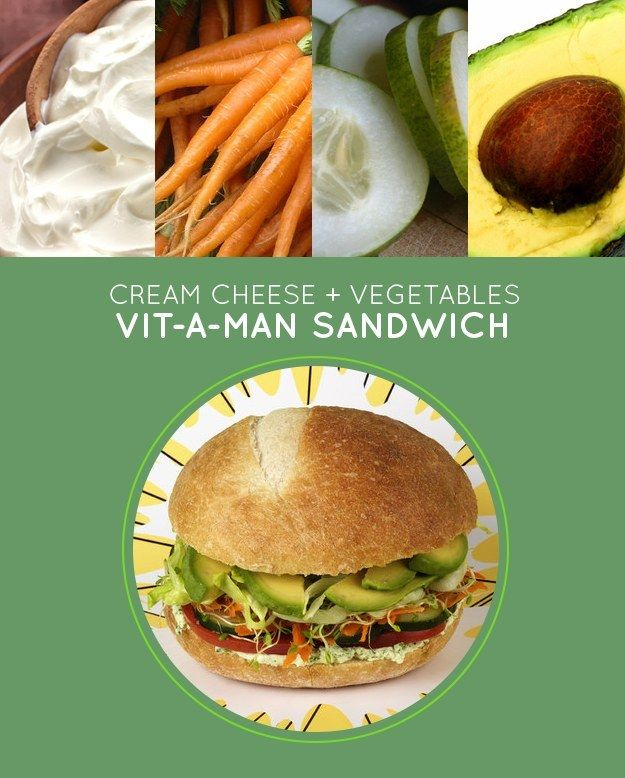 Vit-A-Man Sandwich | 15 Brown-Bag Lunch Sandwiches With No Meat