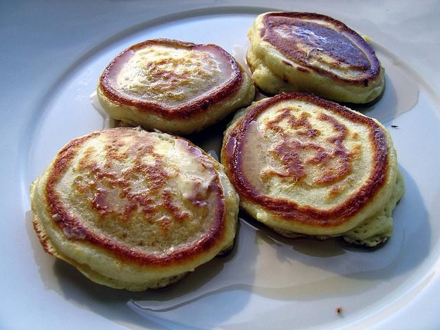Lofty Buttermilk Pancakes Recipe — Dishmaps