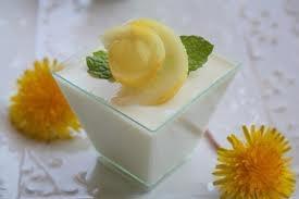 Lemon Panna Cotta | i heart lemons | Pinterest