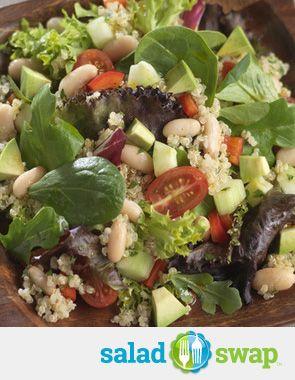 Quinoa and Bean Salad with Cumin-Lime Vinaigrette.* *Chicken & Rice ...