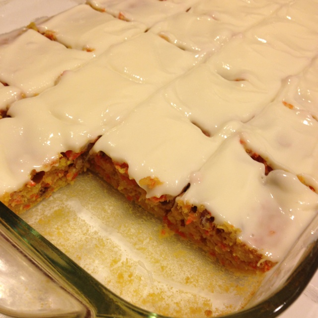 Lemon cream cheese carrot zucchini bars   sweet eats   Pinterest