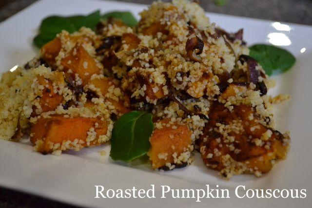 Roasted Pumpkin Couscous Salad | Recetas | Pinterest