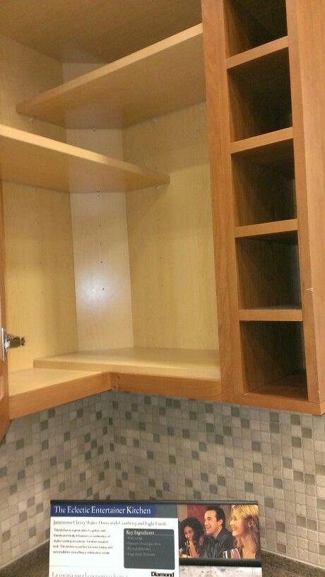 Upper Corner Kitchen Cabinet Ideas. Upper Kitchen Corner Cabinets ...