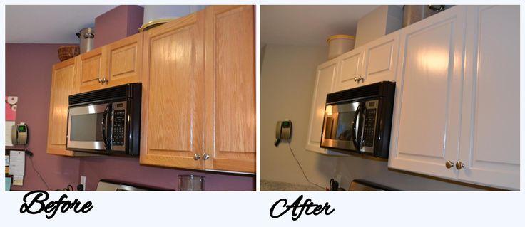 Cabinet refinishing; Color - Pale Oak | Kitchen cabinets | Pinterest