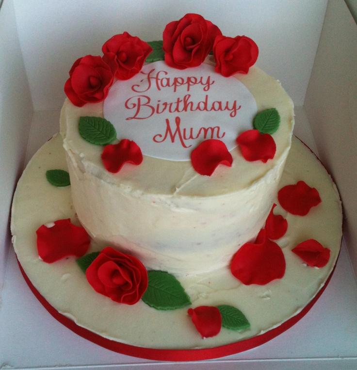 Red Velvet Birthday Cake  Cakes  Pinterest