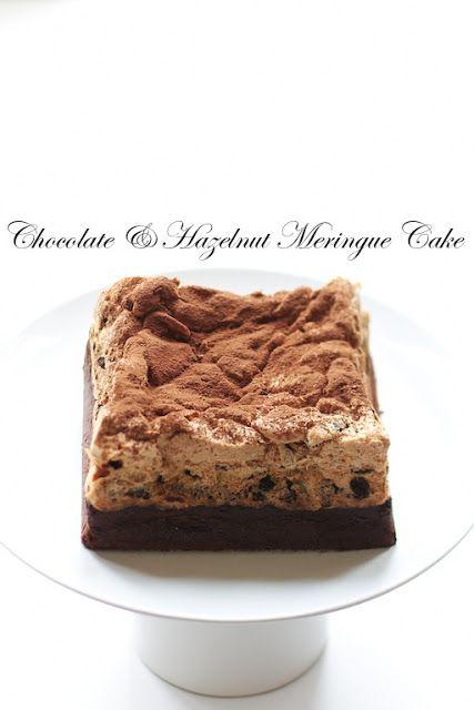 ... handicrafts 月 の 工作 坊 chocolate amp hazelnut meringue cake